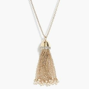 💛Just In💛NWT J Crew Pearl & Tassel Necklace